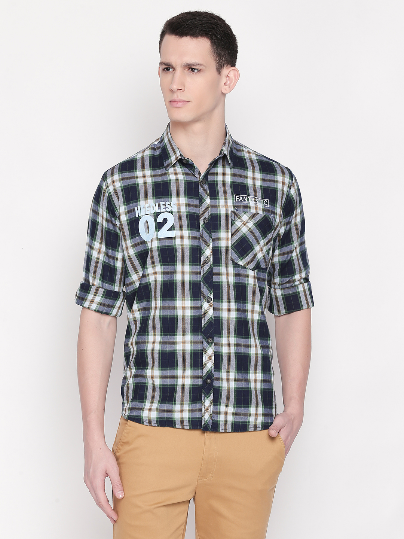 Solemio 100% Cotton Shirt For Men